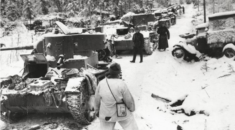 ZIMSKI RAT – sovjetsko-finski rat 1939/40