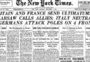 BRITANSKI ULTIMATUM I OBJAVA RATA NJEMAČKOJ – kako je počeo rat u Evropi