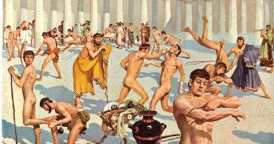 ANTIČKE OLIMPIJSKE IGRE – gola Olimpijada